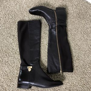 Michael Kors brown riding boots. Size 10